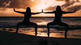 yoga en mindfulness weekenden