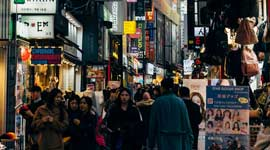Single Rondreizen Zuid-Korea en Japan