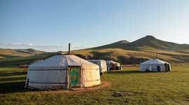 Singlerondreis door Mongolië