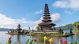 Groepsreis naar Bali en Java voor Singles
