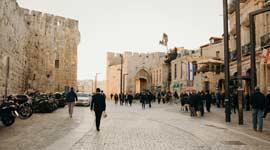 Singlereis naar Israël