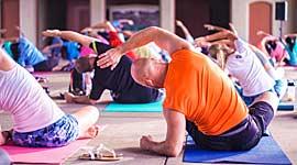 Single vakantie met Yoga