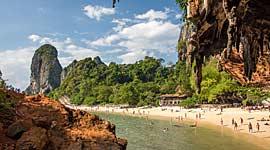Winterzon in Thailand